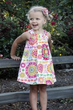 Harper Reversible Dress -- the whole website has the cutest little outfits.