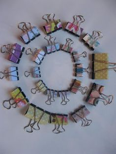 Covered bulldog clip tutorial - cute way to dress up an every day item