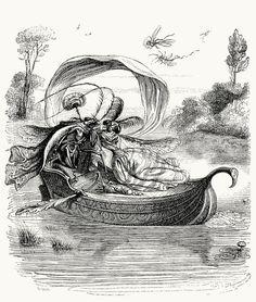 J-J. Grandville, from Vie privée et publique des animaux (Public and Private Life of Animals), under the direction of P. J. Stahl, Paris, 1867.  @ http://archive.org/details/viepriveetpubl00stahuoft