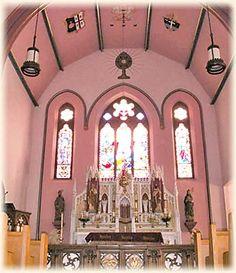 St. Mary Oratory, Rockford, Illinois  Sunday 7am