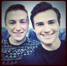 Matt and Michael