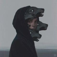 ArtStation - Wolf Pack, by Yuri Shwedoff