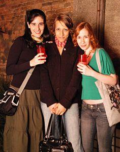 flávia pegorin, eu & vivi agostinho, então garotas que dizem ni, em 2006.