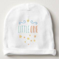 "#cute #baby #beanies #babybeanies - #""little one"" pastel colors cute baby baby beanie"