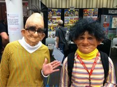 Bert and Ernie haven't aged very well
