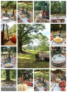 Autumn Tablescape Bl