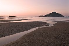 Sunrise at St Michael's Mount, Cornwall