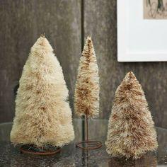 DIY Holiday Craft… Make Bottle Brush Trees | Styled Creative