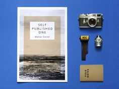 photo + masse verte en produit (Newsprint Promo by Stine Læssøe Nielsen, via Behance)