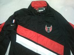 NBA Portland Trailblazers  Store Nike 2XL Basket Ball Warm Up Jacket Aparell #Nike #PortlandTrailBlazers
