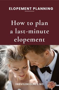 There are many reasons for doing an elopement wedding instead of a traditional wedding day, but one repeat factor is to escape the stress of planning a big Elopement Wedding, Elope Wedding, Wedding Couples, Paris Wedding, Wedding Advice, Wedding Planning Tips, Wedding Ideas, Romantic Weddings, Small Weddings