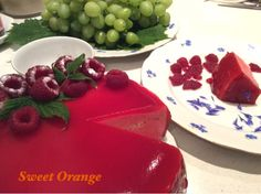 Sweet Orange: MUS MALINOWY BAWARSKI Pudding, Orange, Sweet, Candy, Custard Pudding, Puddings, Avocado Pudding