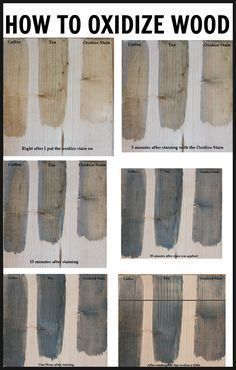 How to age and oxidize new wood to get that worn, gray barnwood look. Oxidize wood to give your furniture a weather gray look! Easy and inexpensive to make recipe using vinegar and steel wool! Furniture Projects, Home Projects, Diy Furniture, Woodworking Plans, Woodworking Projects, Aging Wood, Tea Stains, Diy Holz, Barn Wood