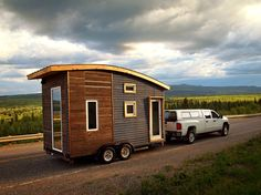 Version.3 is the latest tiny house built by Leaf House Small Space Design & Build, a tiny house company based in Whitehorse, Yukon, Canada. Design as a case study for cold climate tiny house construction, version.3 features a number of innovations unique to the challenges faced by -50°C weather.