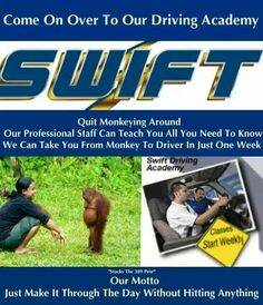 Poor Swift even us Werner guys teased them met some real good guys who drove with swift out there it's all in fun.
