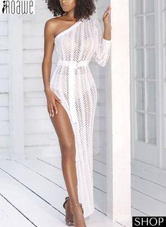 9730bb6242315 Totally Bangin' Mesh Maxi Dress White | Vacay Outfits in 2019 | Dresses, White  maxi dresses, Fashion dresses
