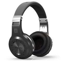 FLOVEME Bluedio Turbine Hurricane H+ Wireless Bluetooth 4.1 HIFI Stereo Built-in Micro-SD Music / FM Radio / MIC Headphones Headset, Black. <b>Iconic powerful bass resonance</b> - 57mm ultra-large dynamic drivers, turbine style housing, and Bluedio's iconic surging low-frequency shock let you feel deep bass resonance for superior sound quality. <b>Ultra-long operation and carefree calling from Bluetooth 4.1</b> - With the robust high speed CPU of Bluetooth 4.1 operating system, the…