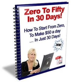 Zero To Fifty in 30 Days - Sellfy.com