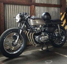 73' Honda CB750 by @ba_vintagemotors