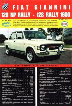 Fiat 128 Giannini Motor Auto S En Motoren Auto S