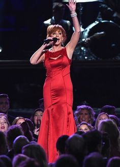 Love the red dress she did great