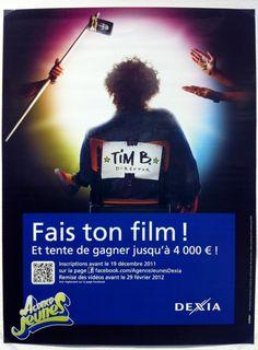 "Campagne ""Fais ton film!"" pour Dexia"