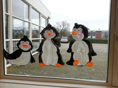 thema winter pinguins