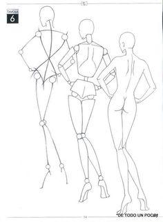 IL Igurino Di Moda,Book from Instituti Marangoni-Milano,Part One Fashion Illustration Tutorial, Fashion Illustration Sketches, Illustration Mode, Fashion Sketches, Illustrations, Fashion Figure Drawing, Fashion Model Drawing, Fashion Design Drawings, Fashion Figure Templates
