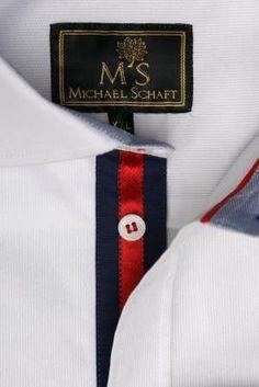634114bb3de7c99 Рубашка Michael Schaft Белая Классическая Slim Fit: продажа, цена в Киеве.  рубашки мужские от