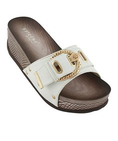 Love this White Jane Slide by Eddie Marc & Co. on #zulily! #zulilyfinds $24.99, usually 60.00