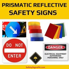 High Intensity Prismatic Reflective Safety Signs Philippines Safety Message, Electrical Equipment, Philippines, Messages, Signs, Shop Signs, Text Posts, Text Conversations