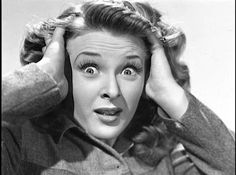 """Evelyn Ankers, """"Queen of the Horror Movies."""""""