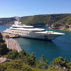 The Luxury Lifestyle Magazine The Yacht 'Polaris' Super Yachts, Big Yachts, Yacht Design, Jets Privés De Luxe, Bateau Yacht, Jet Privé, Private Yacht, Yacht Boat, Yacht Club
