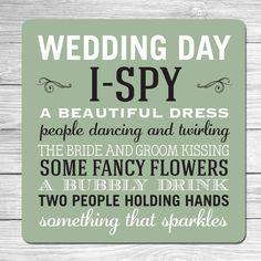 WEDDING BEER MATS (Tables/Favours/Games) Bingo, Dancefloor, Ispy, Dares | eBay
