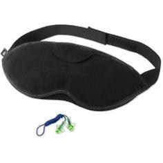 Sleep Mask + Ear Plugs