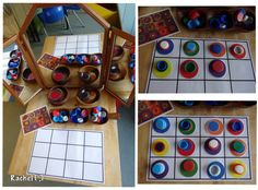 """Kandinsky-inspired 'dots' for Dot Day with laminated circles & bottle tops. from Rachel ("""",) Kindergarten Art, Preschool Art, Art For Kids, Crafts For Kids, International Dot Day, Kandinsky Art, Art Projects, Projects To Try, Ecole Art"""