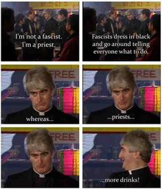 Atheist Meme. Love Father Ted!!!