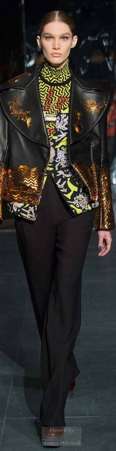 Kenzo Fall 2014 Ready-to-Wear.                     FF