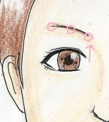 上まぶたすっきり!目の印象をはっきりさせるツボクササイズ|美容ツボクササイズ