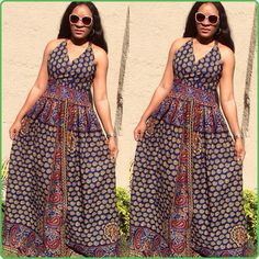 Brown Kikisfashion fashionfreak picstitch fashion | Iya Eko - Trending African Fashion