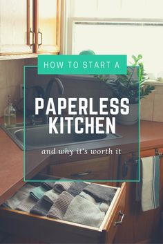 Starting a paperless kitchen is easy, affordable and wonderfully eco-friendly. Here are some of my best tips for newbies to the idea.