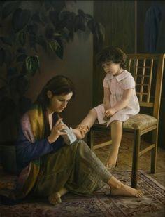 As pinturas de Imán Maleki que parecem fotos - Beevoz