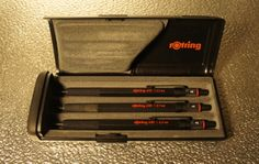 mechanical pencil set in box