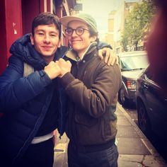 Fionn Whitehead and Barry