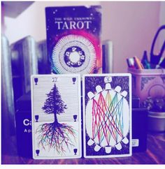 Real life tarot images of michelleshea instagram Six of Cups & Ten of Cups.