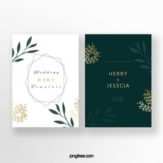 Emerald Invitation Card Graphic Wedding Invitations, Invitation Floral, Gold Invitations, Invitation Card Design, Watercolor Wedding Invitations, Floral Wedding Invitations, Wedding Invitation Cards, Wedding Cards, Red And Gold Wallpaper