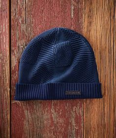 6c766ef011a Men s Mixed Knit Beanie - Ideal for transitional fall weather that s cool  but not frosty