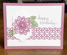 Card Creations by Beth: Flourish Thinlits Birthday Card