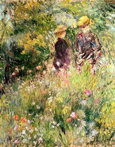 The Garden of Roses Pierre-Auguste Renoir