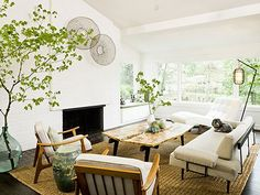Making it Work: Large-Scale Greenery | Apartment Therapy
